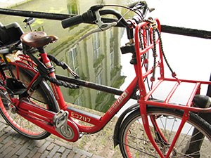 Beautiful bicycles of Holland, as seen on the RideHimalaya tour