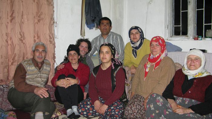 Family and friends at Kirme village, below Baba Mountain